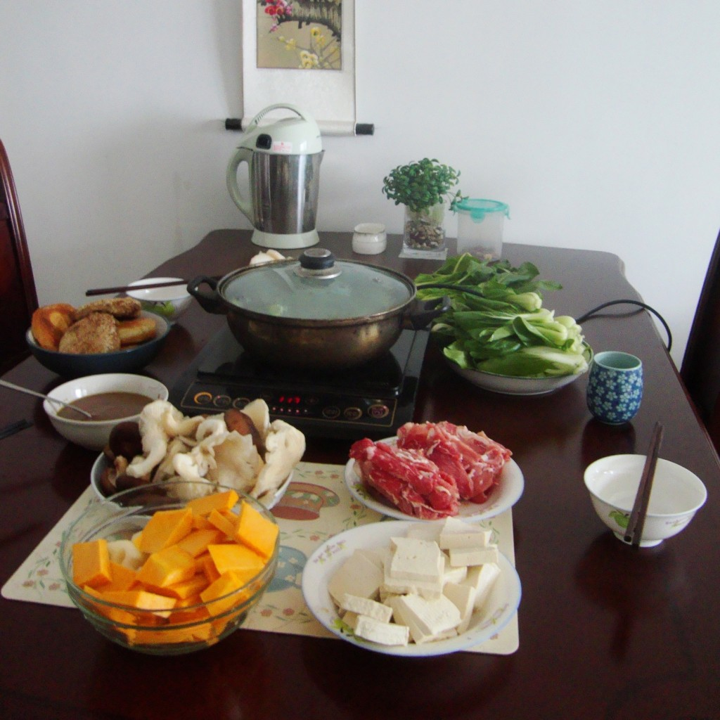 Homestyle hot pot