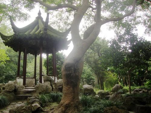 West Garden Temple and Lingering Garden.