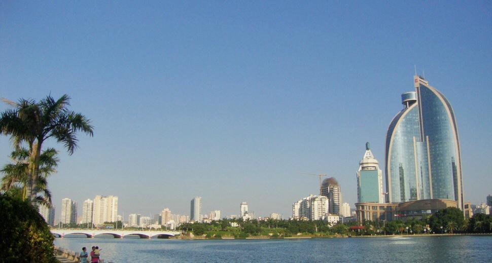 Yundang Lake.