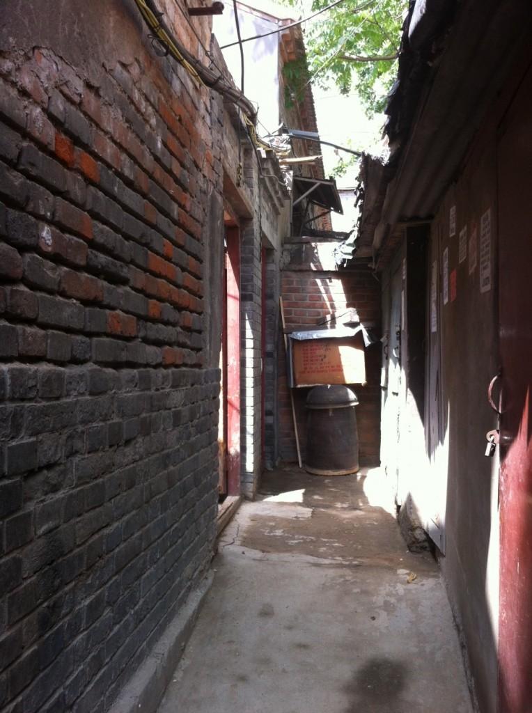 Pamela's former courtyard home, since broken up into smaller living quarters.